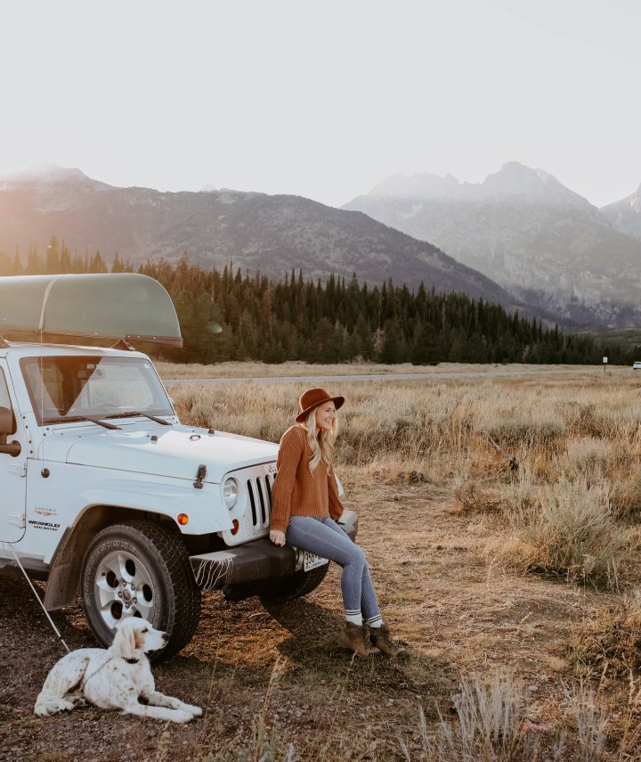 Road Trip to Yellowstone and the Grand Tetons with your Dog